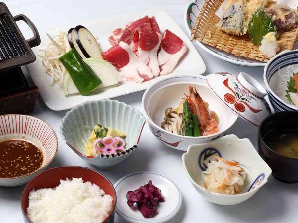 *【夕食全体例/ラムサフォーク】臭みがなく、脂に甘みがあり、とても柔らかい羊肉をお楽しみください。