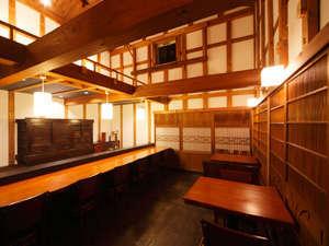 「蔵BAR EBISU」 カウンター席・テーブル席・立ち飲み席がございます。