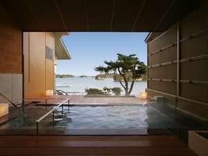 貸切風呂「朝日見の湯 」ご予約制となっております。(先着15組)