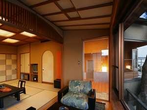 【特別室 石斛】隠れ家的な雰囲気がご好評でございます。