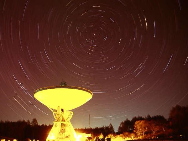 野辺山国立天文台と(撮影:北沢憲二様)