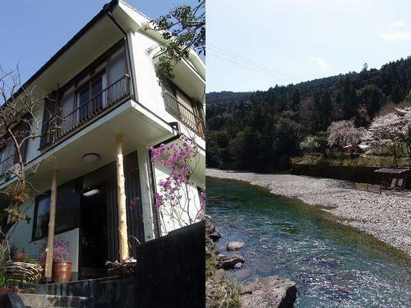 【民宿 立石】川のせせらぎと自然美の中でくつろぐ癒しの温泉民宿