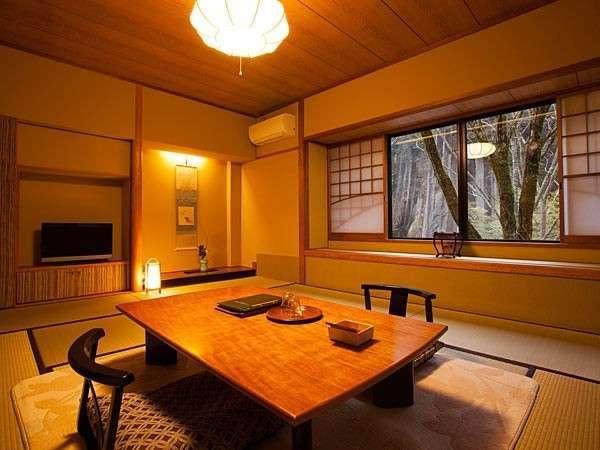 母屋客室(10畳)スタンダ-ドタイプの客室