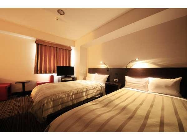 ツイン:25平米/ベッド幅110