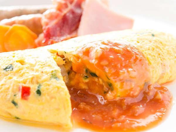 カフェテラス「カメリア」朝食一例