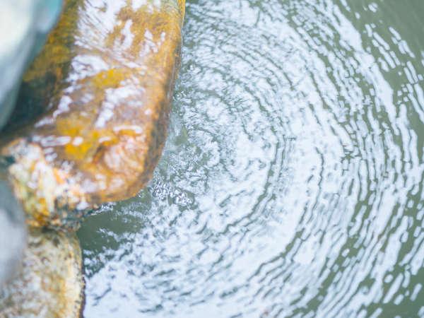 天然の保湿成分・メタケイ酸を含む美肌・保湿の湯を堪能してください。