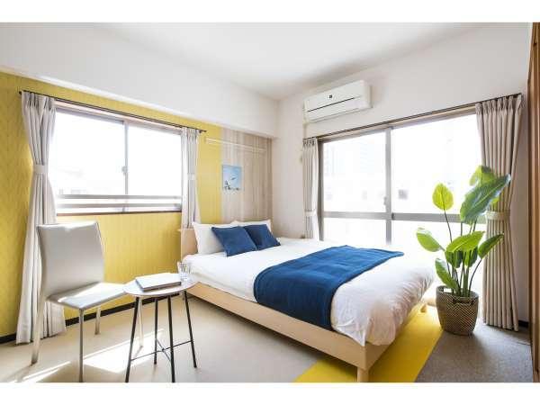 日当たり良好の明るい客室