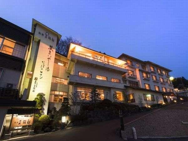 旅館三治郎全景
