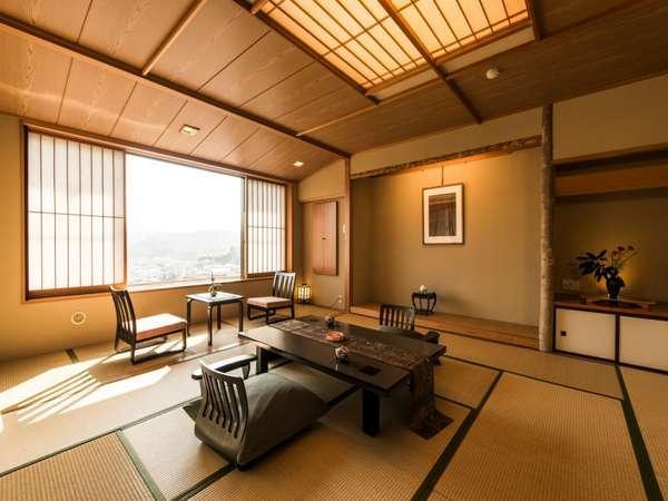 【東館一例】蔵王連峰の眺望が良いお部屋。雄大な蔵王連峰の景色を独り占め♪