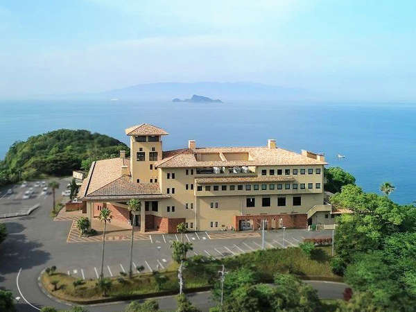 志布志湾を施設の様々な場所からご覧いただけます