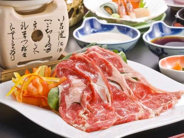 秋田の美味しい錦牛をぜひご賞味下さい(料理一例)