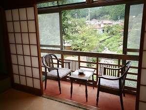 旧館のお部屋からの眺め(一例)