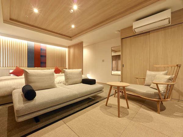 ★新フロア【10Fプレミアムフロア溪-Kei-】 B type 一例Atypeよりコンパクトな和洋室タイプのお部屋です。
