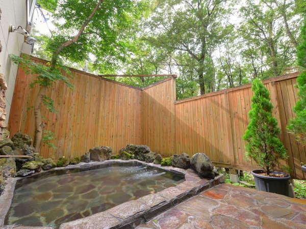 【露天風呂】那須温泉で、ごゆっくりとお寛ぎください