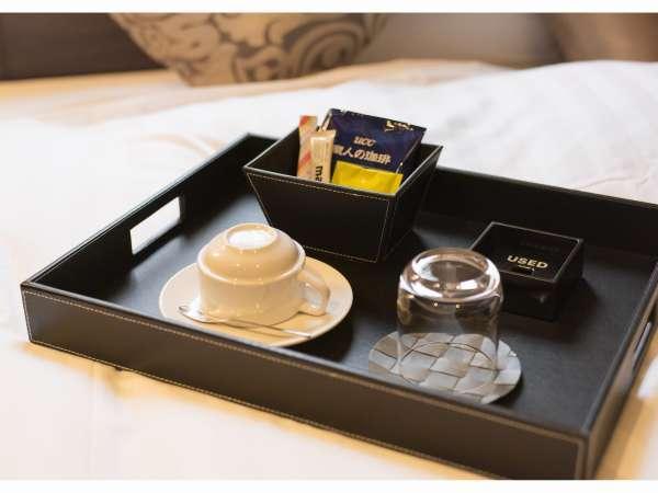客室 茶器セット 全室ミネラルウォーター付き