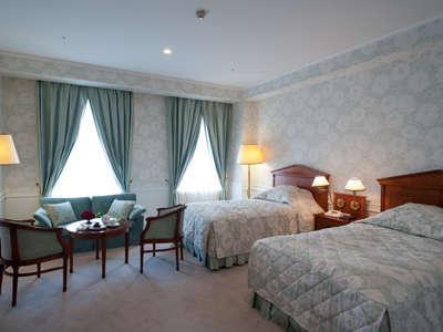 【クラブフロアルーム】ホテル最上階4階の特別なフロア。心に残る滞在をご満喫いただけます。