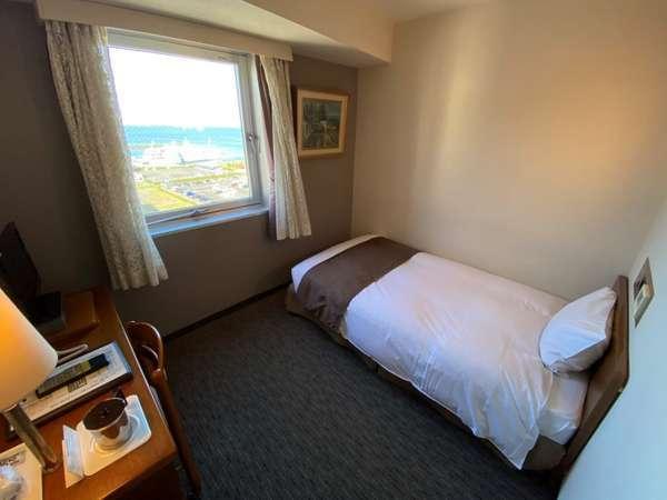 琵琶湖が見えるシングルルーム
