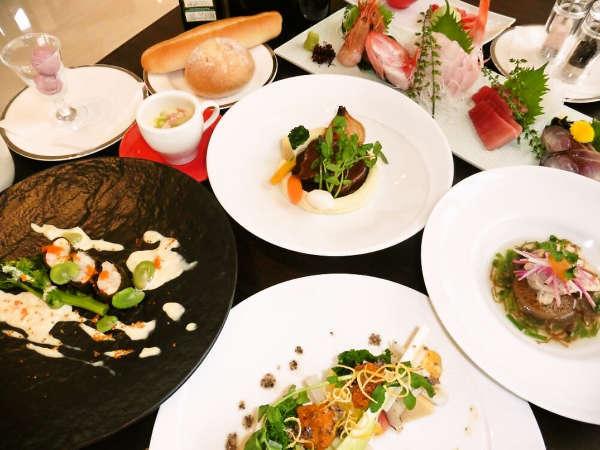 和洋創作フルコースディナー【食事一例】