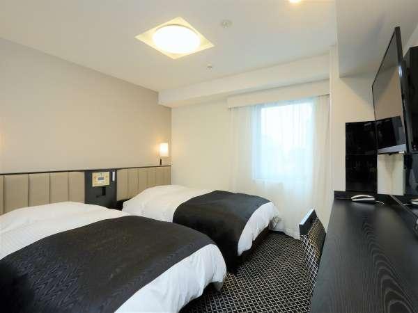 ツインルーム 13.1平米/113cm幅ベッド2台