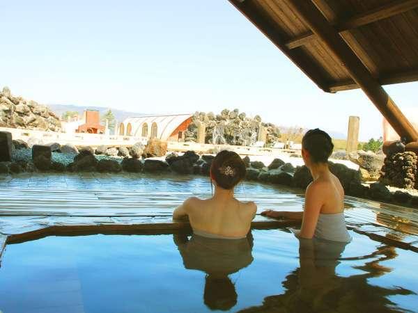 大自然阿蘇健康の森【阿蘇健康火山温泉】ミネラル豊富な温泉で身体の芯から温かくなります。