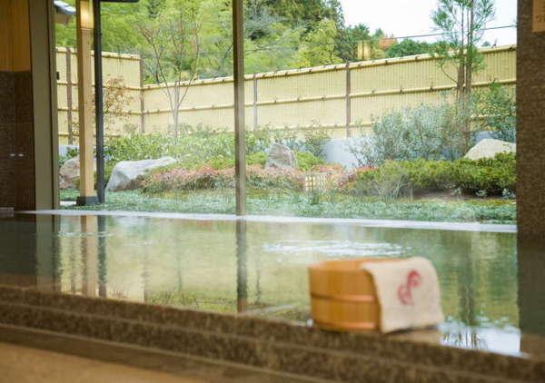 浴槽からの眺望