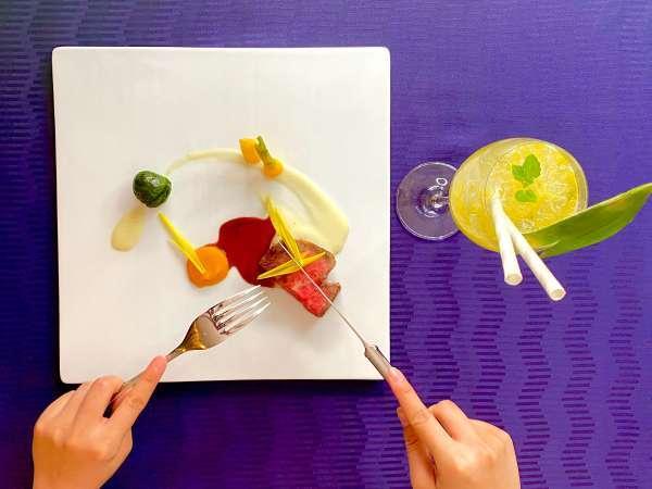 ■関西で味わうクリエイティヴなコース料理を…