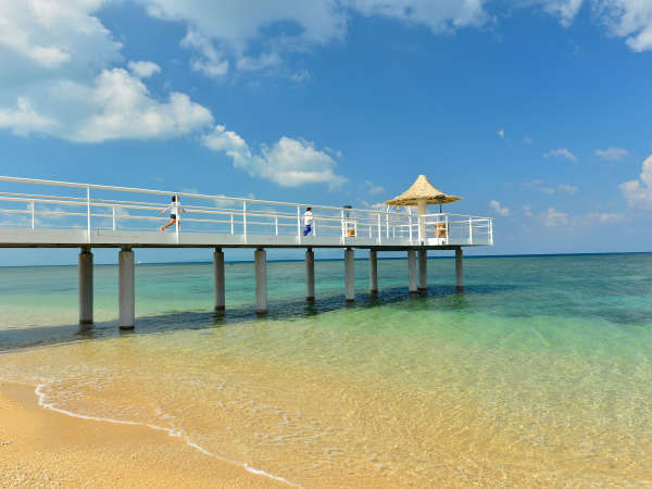 フサキビーチのシンボル『フサキエンジェルピア』