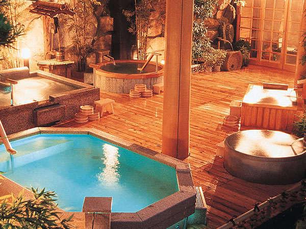 多彩なお風呂が楽しめる♪アルカリ性単純温泉の泉質をお楽しみ下さい