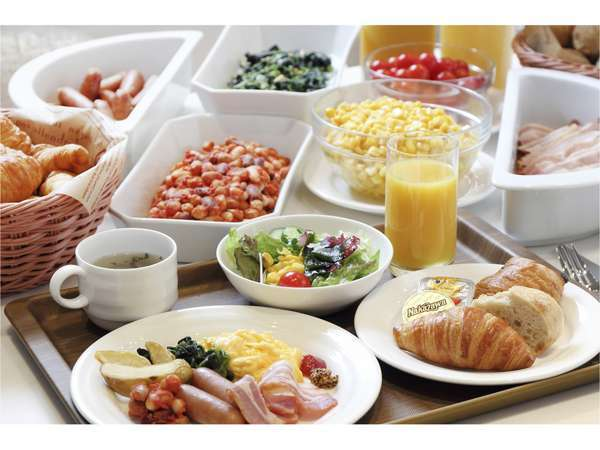 朝食ブッフェ6:30~10:00(最終入店9:45)