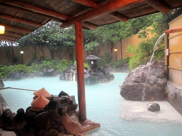 霧島温泉 霧島国際ホテル 露天風呂