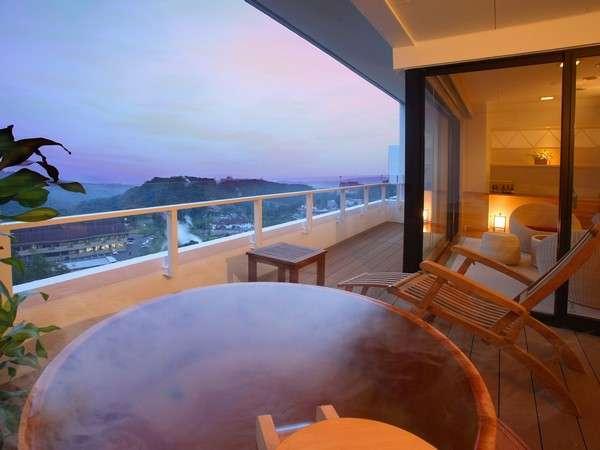 露天風呂付き客室(※沸かし湯になります/お部屋タイプは、和室・和洋室 ホテルお任せ。)