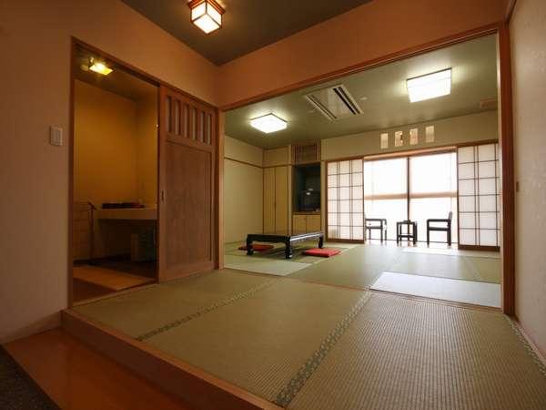 【客室】広々とした「和」の空間でのんびり羽を伸ばそう!!