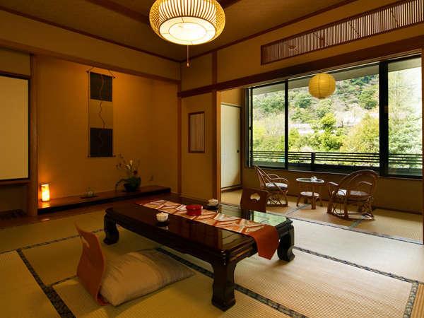 ■和室-須雲川沿い-■須雲川のせせらぎを聞きながらのんびりとお過ごし下さい