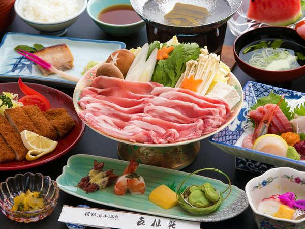 ■新鮮■ 小田原港直送の海の幸、県内産のブランド牛、豚などの山の幸☆当館ならではの宿屋料理をご堪能。