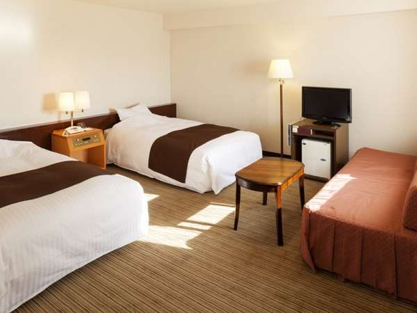 [部屋] ツインルームDタイプ/30平米・WI-FI接続フリー・機能的で快適な寛ぎの空間。