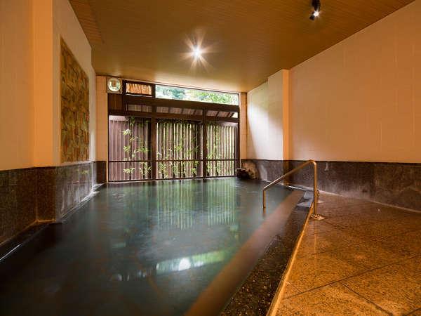 女性大浴場「花(はな)の湯」のイメージ画像♪広々とした浴槽です♪♪