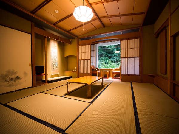 ワンランク上の和室タイプ「月想庵(げっそうあん)」の客室一例♪