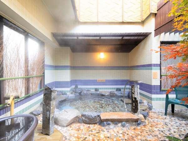 ◆大浴場 男性露天風呂 湯温42℃