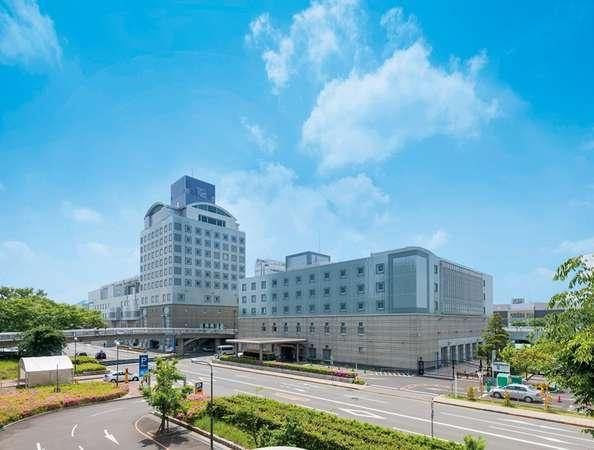 ホテル外観・本館(11階建て)別館(5階建て)