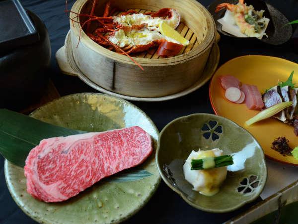 *【夕食一例】ここでしか味わえない地魚漁亭料理をお楽しみおただけます。