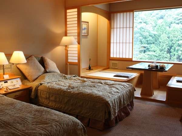 畳の広縁が付いたタイプの洋室(※客室一例)