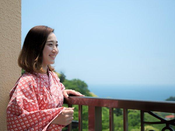 【部屋からの眺望】お天気の良い日は日光浴を、夜は美しい星空をお楽しみいただけます。