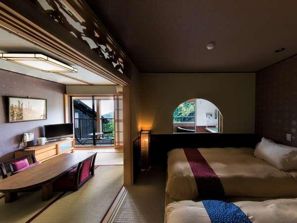 【河津桜】寝室から外をのぞいて。バルコニーからの景色も良好です!