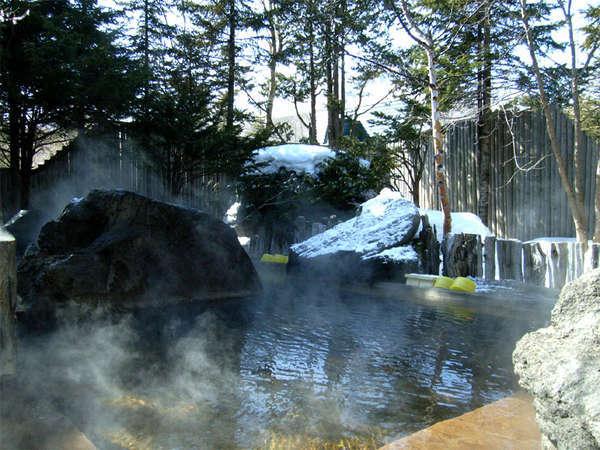 【ホテルパークウェイ】源泉掛け流し100%の大露天風呂と自家養殖の摩周鯛が自慢の宿