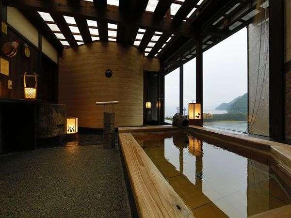 【貸切展望風呂】戸田港と富士山をご覧になれる貸切風呂「富士のゆき」