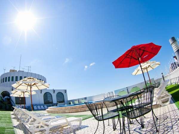 【夏季限定屋上プール】7/1~9/6までオープン!詳細は宿からのお知らせをご確認下さい
