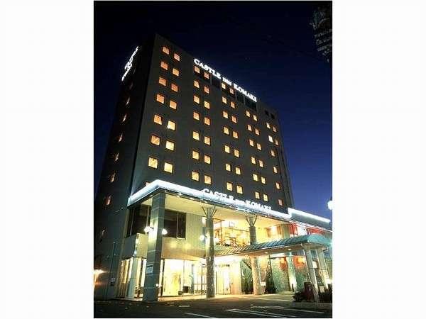 キャッスルイン小牧小牧ICから1番近いビジネスホテル 車で5分、無料駐車場80台完備