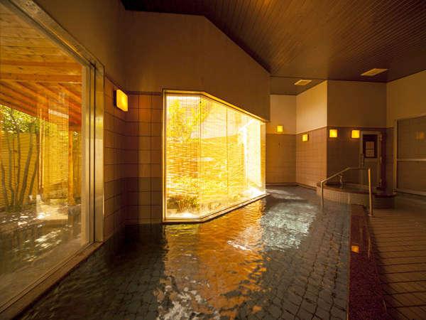 【大浴場】お肌がツルツルになる美肌の湯です