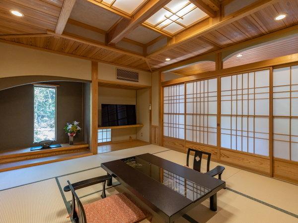 【離れ宿 山咲】静かな山里に温かな湯が湧きました。六棟の離れに二棟の特別室