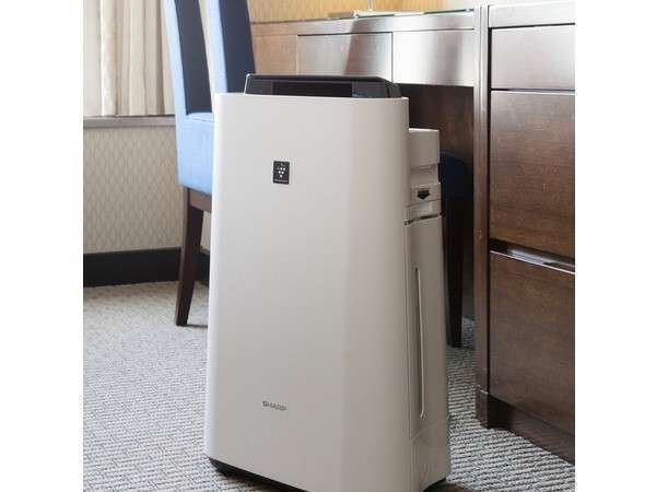 全室に加湿空気清浄機を完備。